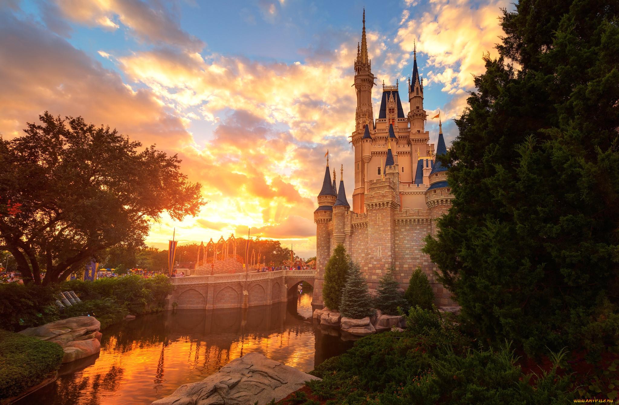 картинки замков королевств основном